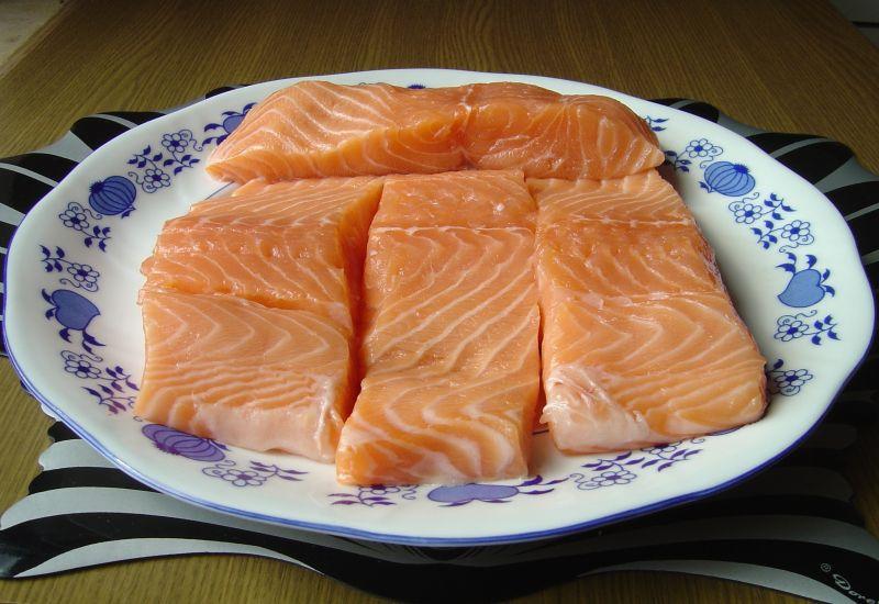 Filet z łososia z piekarnika