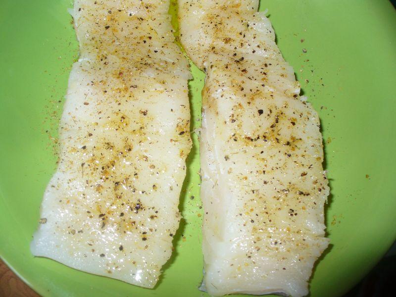 Filety z dorsza grillowane