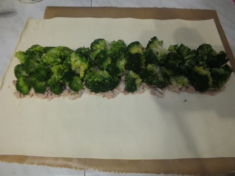 Francuski warkocz brokułowy