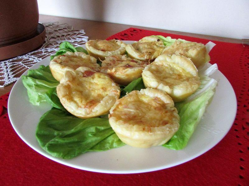 Francuskie muffinki z farszem