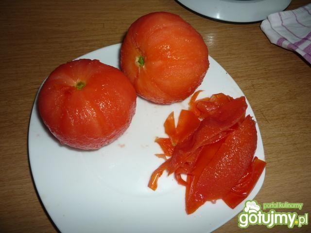 Gazpacho pomidorowe z bazylią i oregano