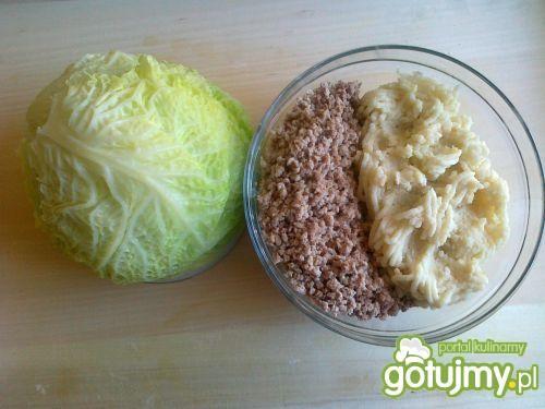 Gołąbki domowe z mięsem i ryżem