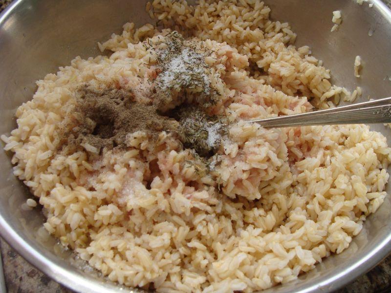 Gołąbki z brązowym ryżem
