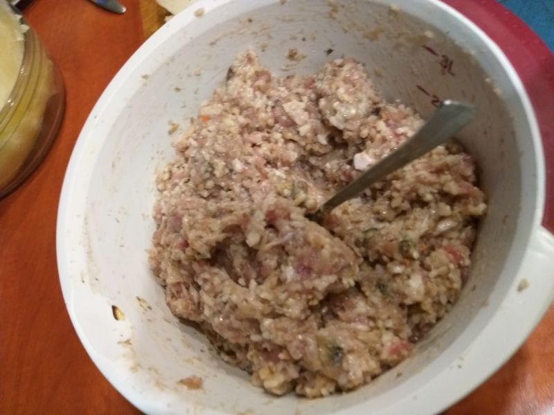 Gołąbki z kaszą gryczaną i ryżem
