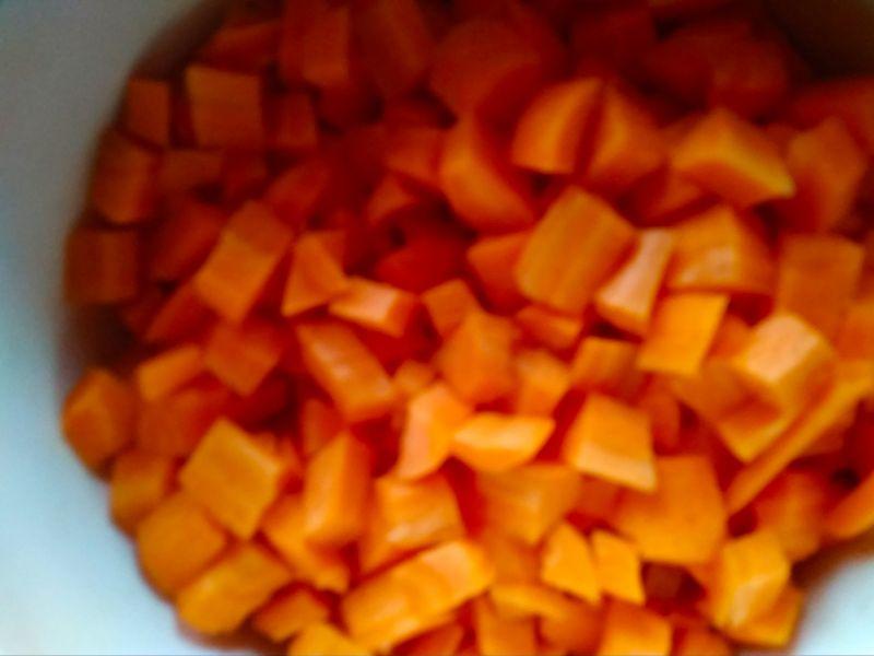 Gotowana marchewka do obiadu