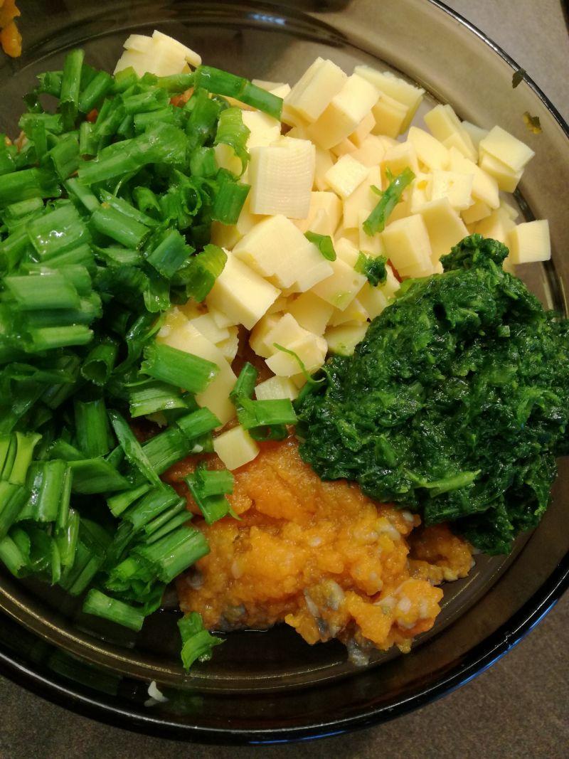 Gotowane warzywne pulpety
