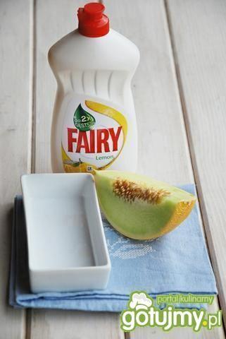 Grillowa sałatka z melonem