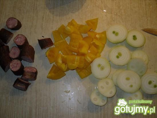 Grillowane szaszłyki ze swojską kiełbasą
