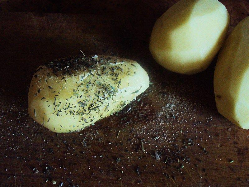 Grillowane ziemniaczki