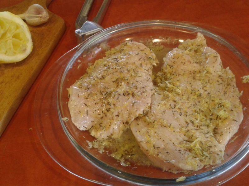 Grillowany filet z marynaty cytrynowej