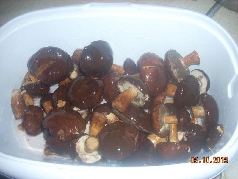Grzybki marynowane z paprykowym smakiem