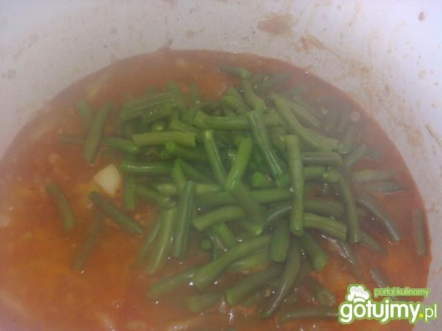 Gulasz warzywny z fasolką szparagową