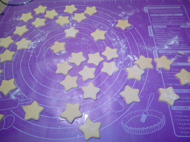 Gwiazdki - ciasteczka budyniowe
