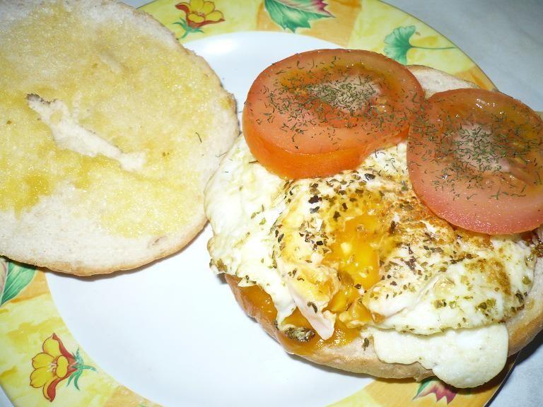 Hamburger jajeczny