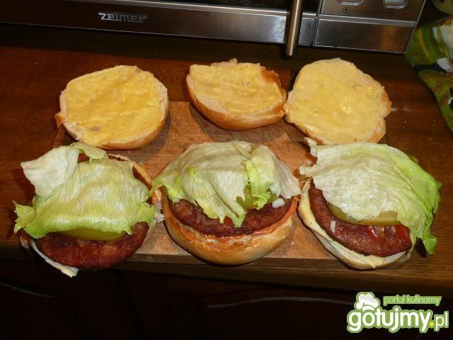 Hamburger  -  mój sposób