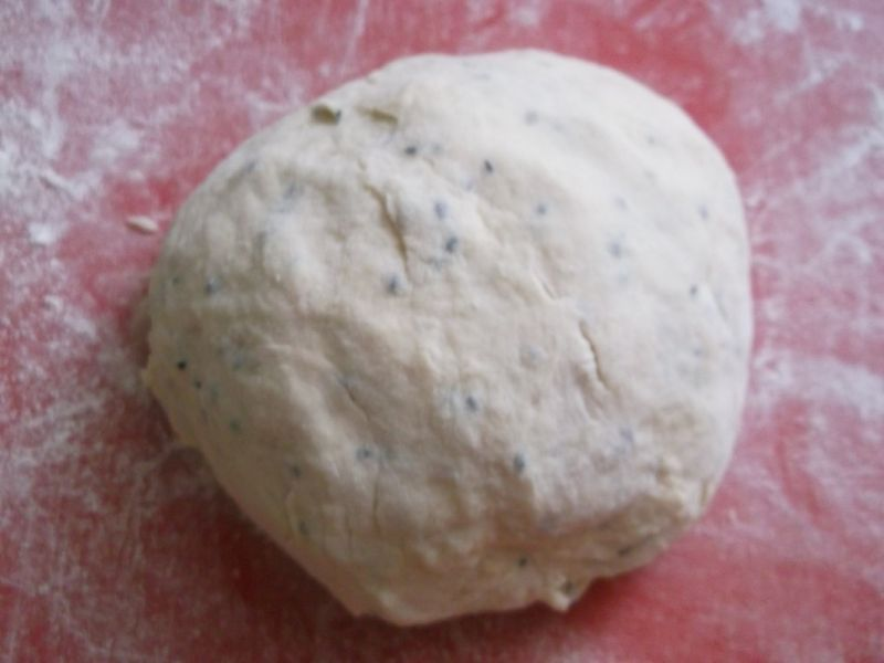 Indyjskie chlebki naan
