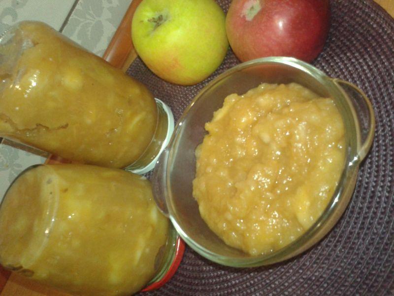 Jabłka prażone do słoików