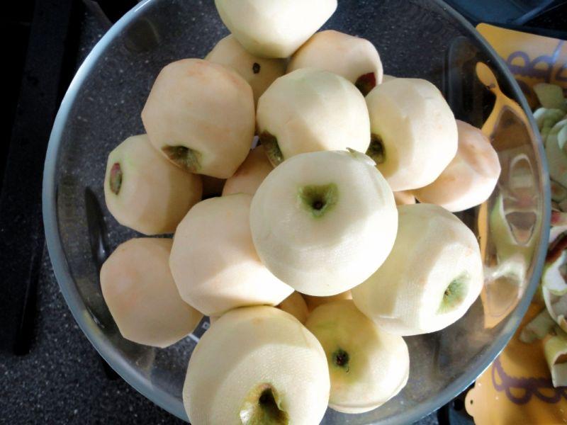 Jabłka prażone z cynamonem do szarlotki