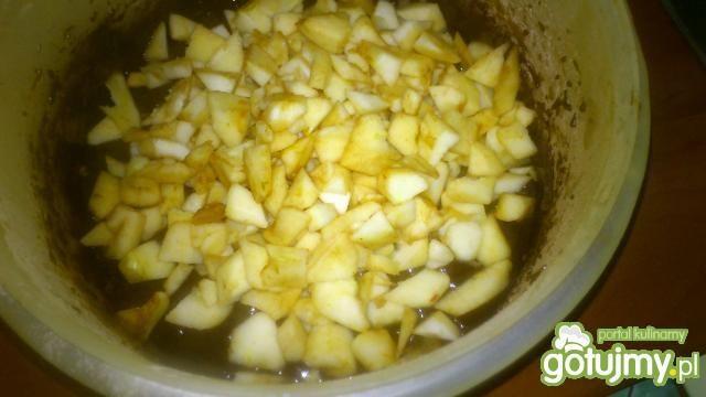 Jabłkowo- czekoladowe