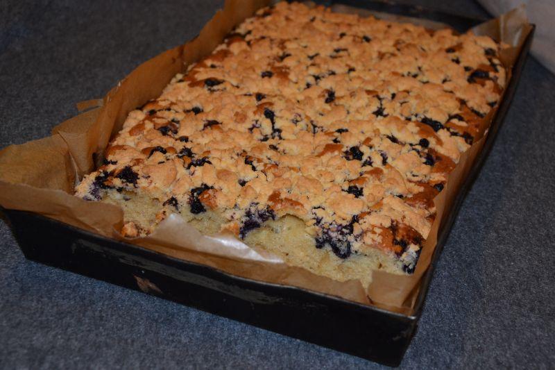 Jagodowe ciasto