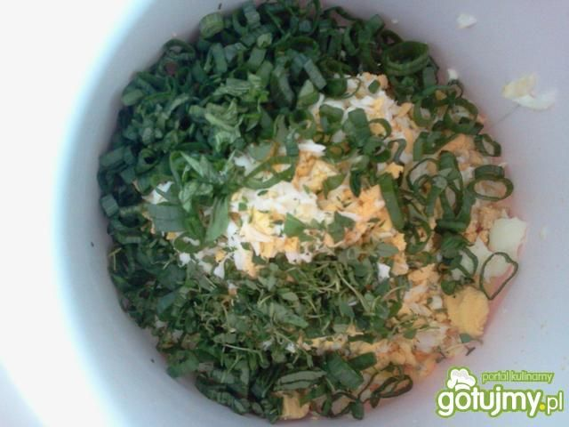 Jajeczne kotleciki z ziołami i cukinią