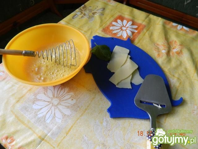 Jajecznica z serem