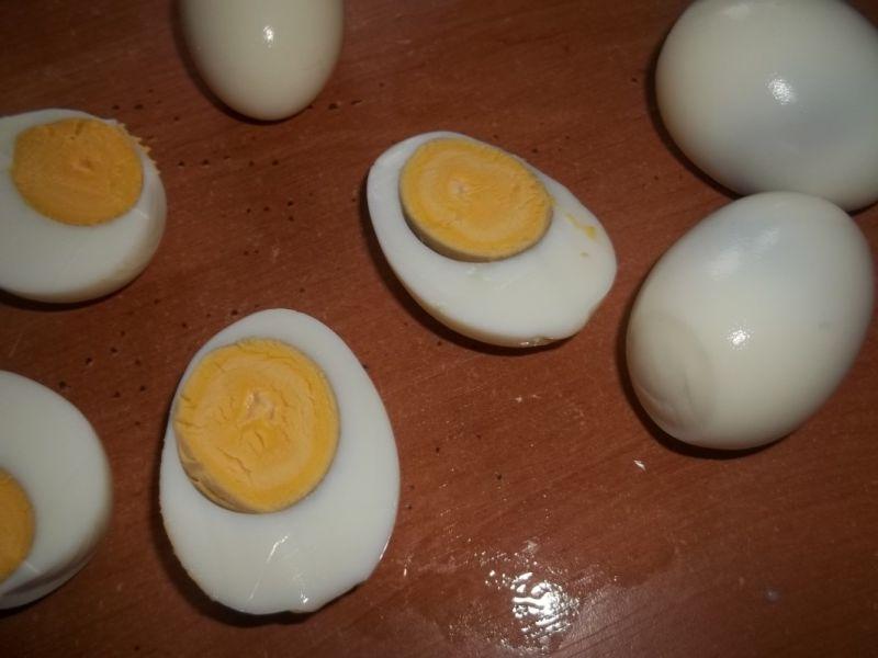 Jajka faszerowane mielonym