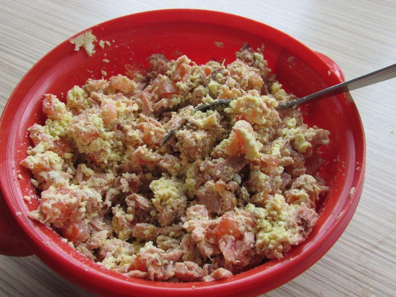 Jajka faszerowane z tuńczykiem
