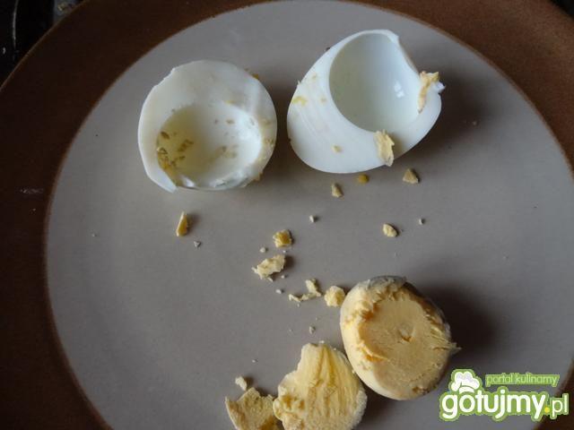 Jajka świąteczne z pasta jajeczną