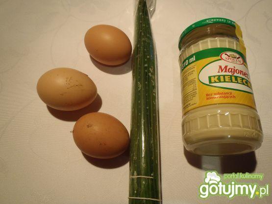 Jajka w majonezie.