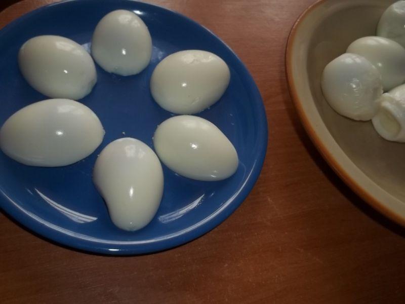 Jajka w sosie porowym