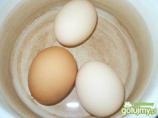 Jajka z sosem majonezowym wg Marty