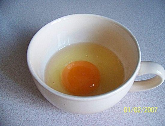 Jajko w koszulce