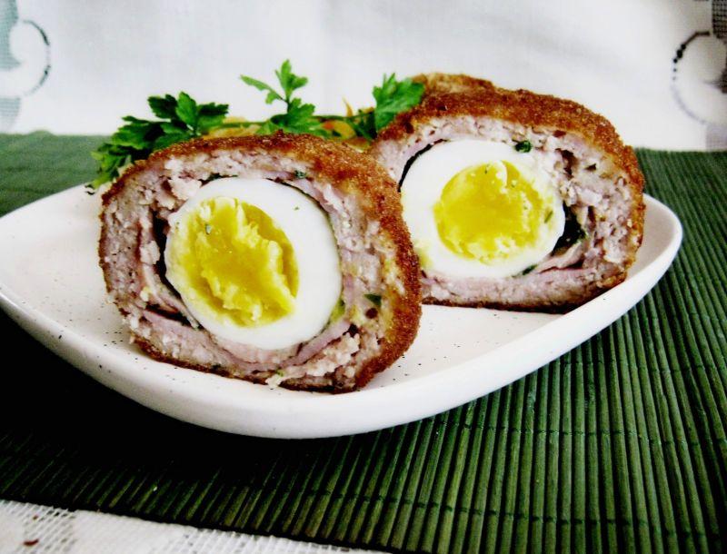 Jajko w mielonym