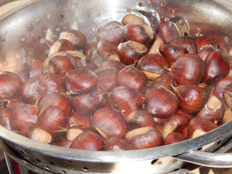Jak przygotować puree z jadalnych kasztanów