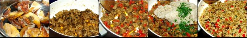 Jęczmienna z grzybami i wieprzowiną