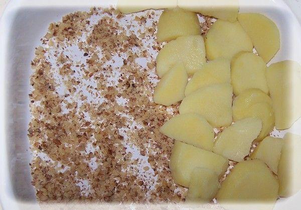 Jesienna zapiekanka ziemniaczano-grzybowa