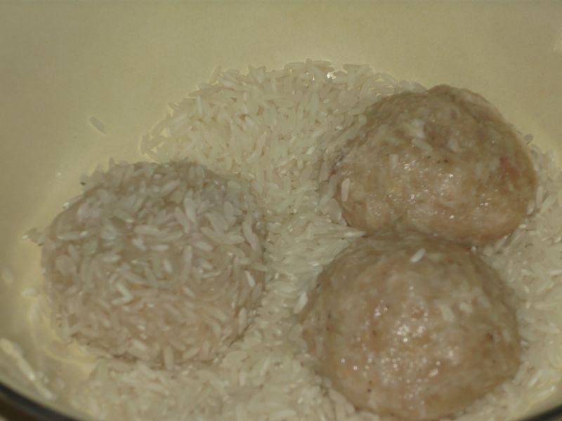 Jeżyki mięsno - ryżowe