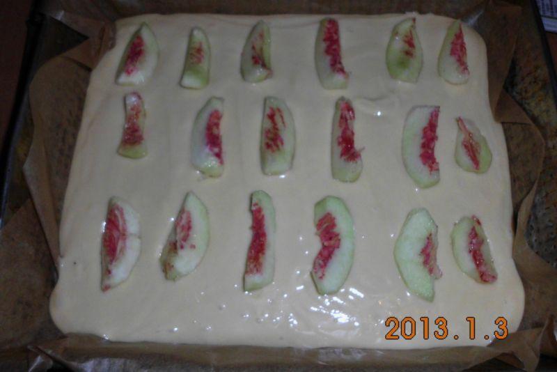 Jogurtowe ciasto z brzoskwiniami