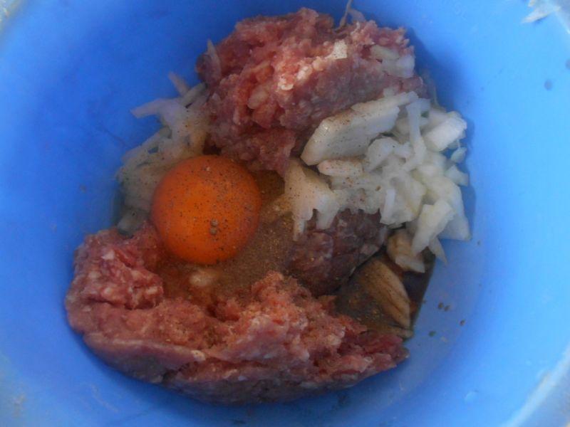 Kabaczek z mięsem