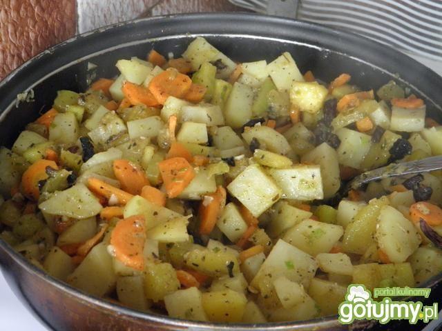 Kaczka faszerowana warzywami