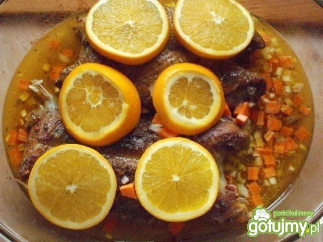Kaczka w pomarańczach 2