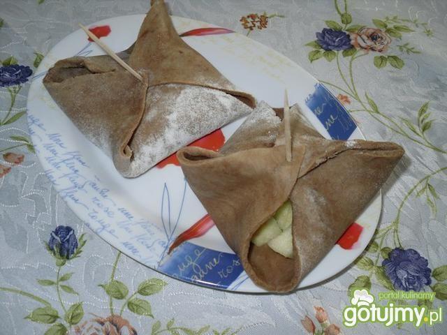 Kakaowa 'szarlotka' na ciepło