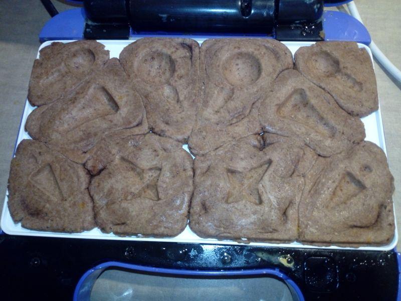 Kakaowe ciasteczka z opiekacza