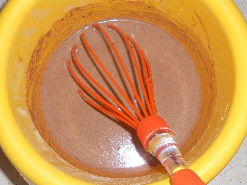Kakaowe naleśniki z mąki teff i tapioki