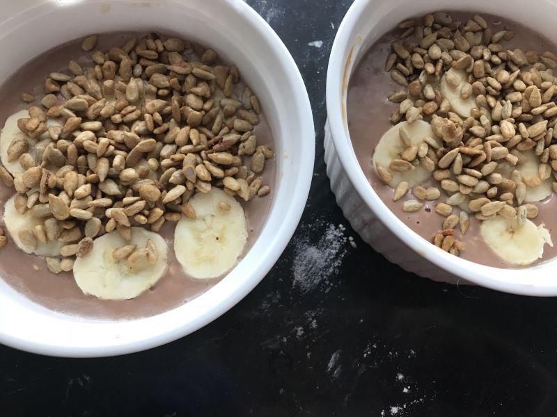 Kakaowo-mleczne strusie
