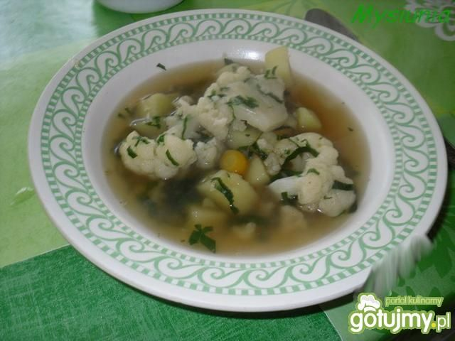 Kalafiorowa zupa