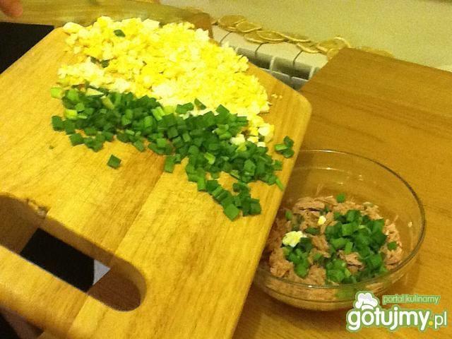 Kanapkowa pasta z tuńczykiem
