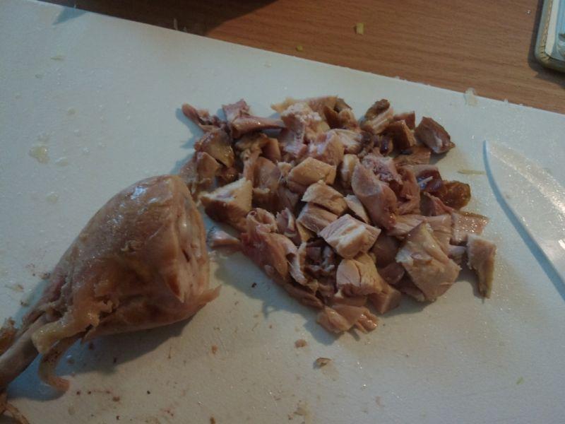 Kapuśniak z wędzonym kurczakiem