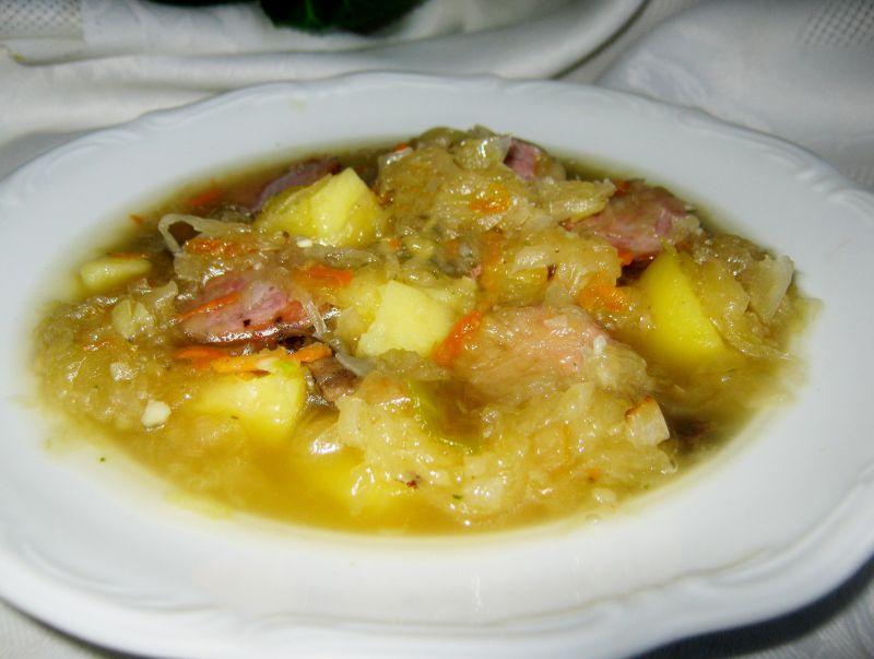 Kapuśniak z ziemniakami